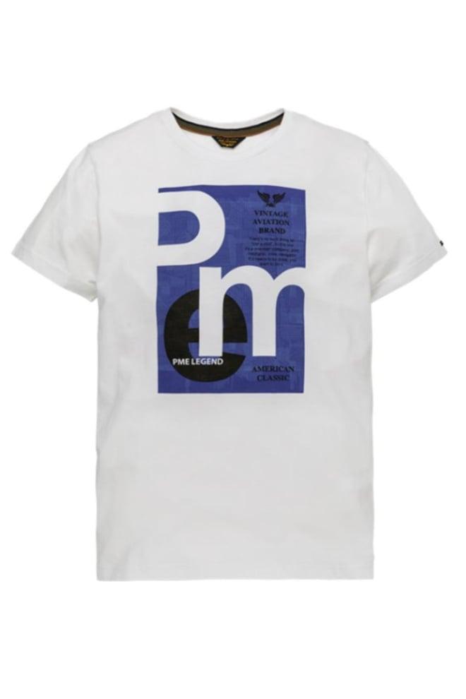 Pme legend play lw t-shirt wit