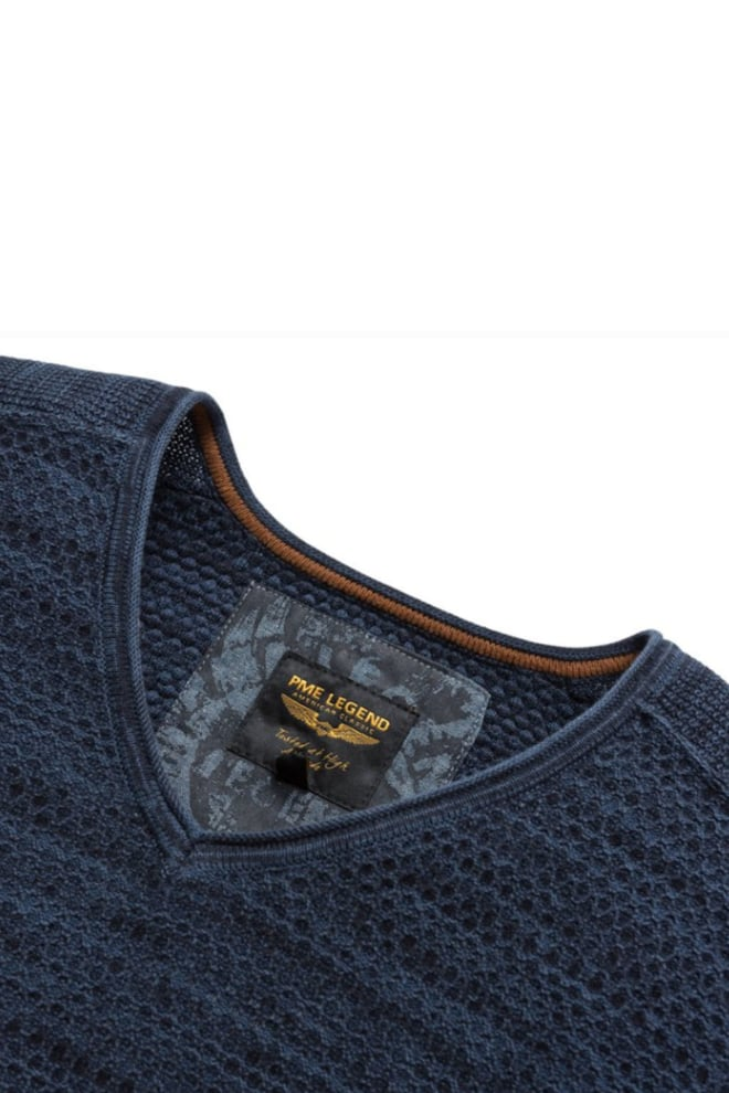 Pme legend pullover with v-neck salute - Pme Legend