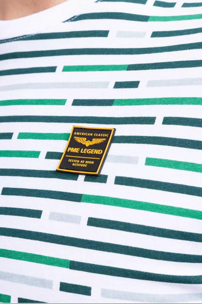 Pme legend striped t-shirt wit - Pme Legend