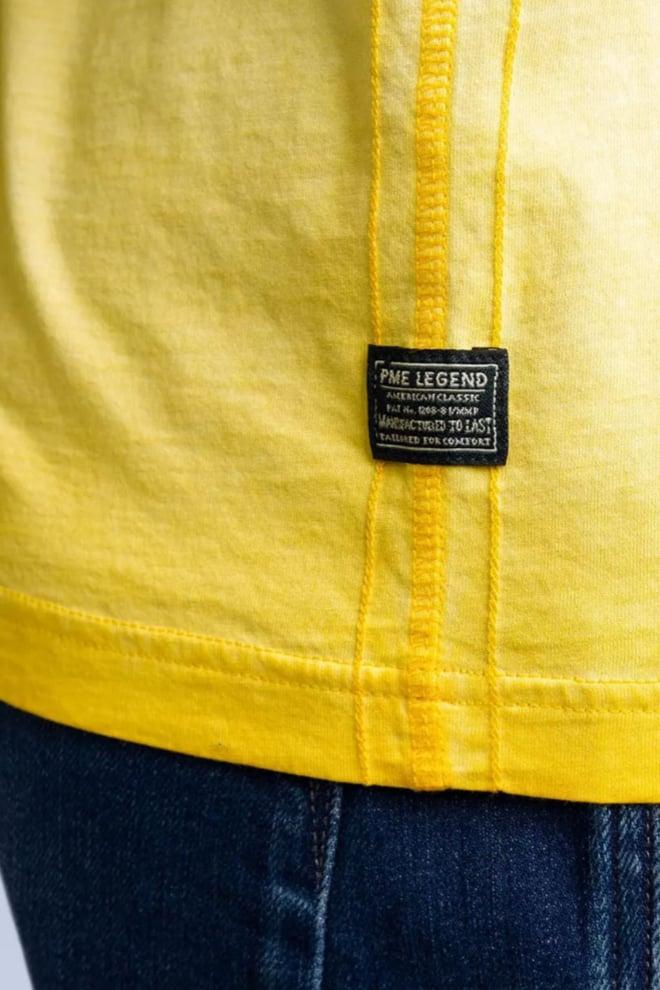 Pme legend t-shirt shortsleeve geel - Pme Legend