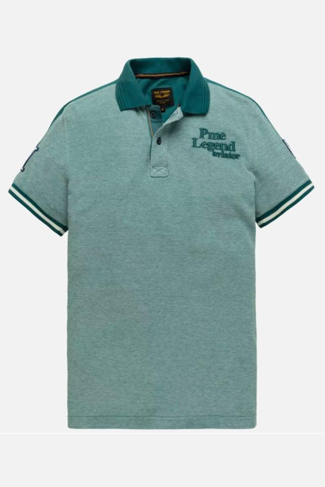 Pme legend two tone polo blauw - Pme Legend