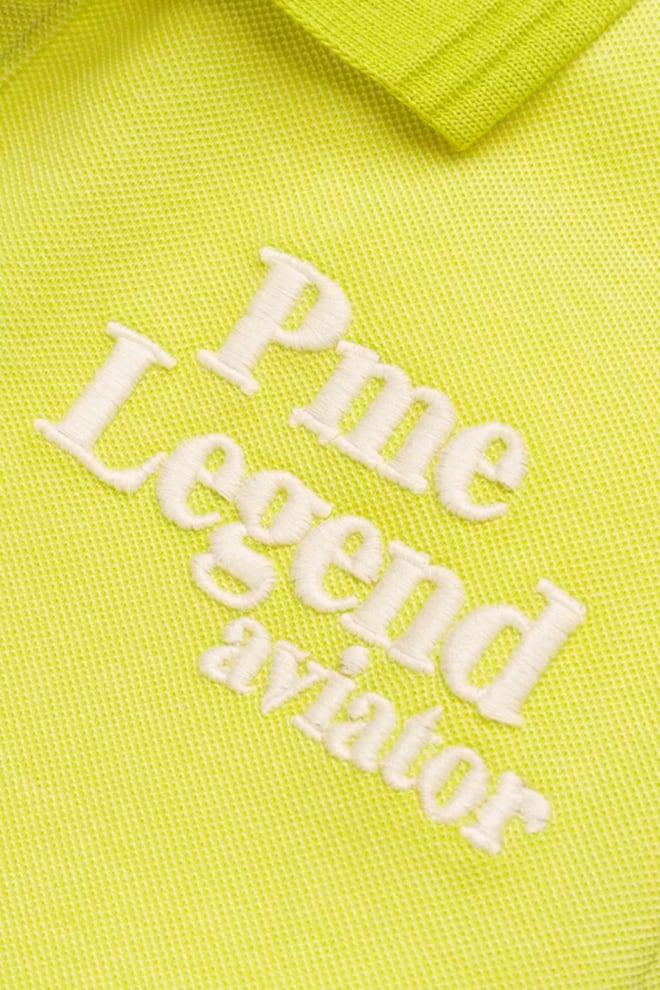 Pme legend two tone polo geel - Pme Legend