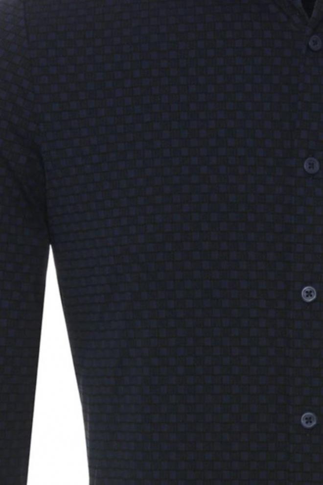 Pure hatico pure functional overhemd navy - Pure-hatico