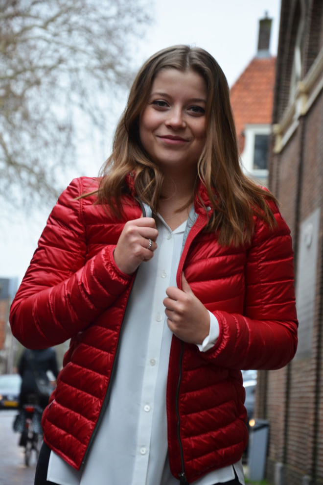 Parajumpers leonore woman scarlet red - Parajumpers