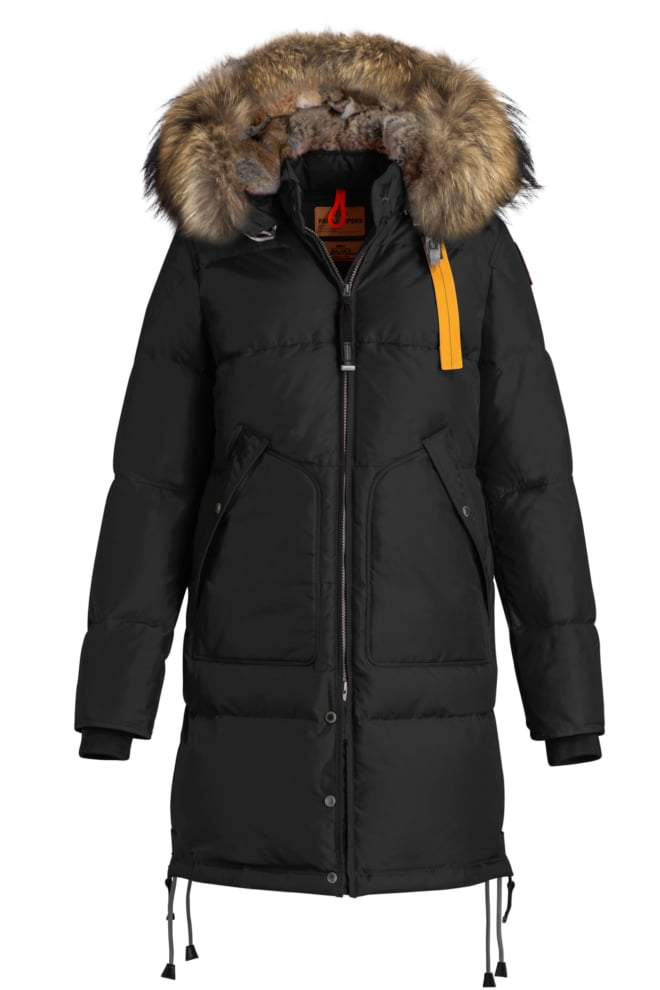 Parajumpers long bear woman jacket black - Parajumpers