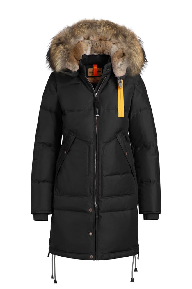 Parajumpers long bear parka zwart - Parajumpers