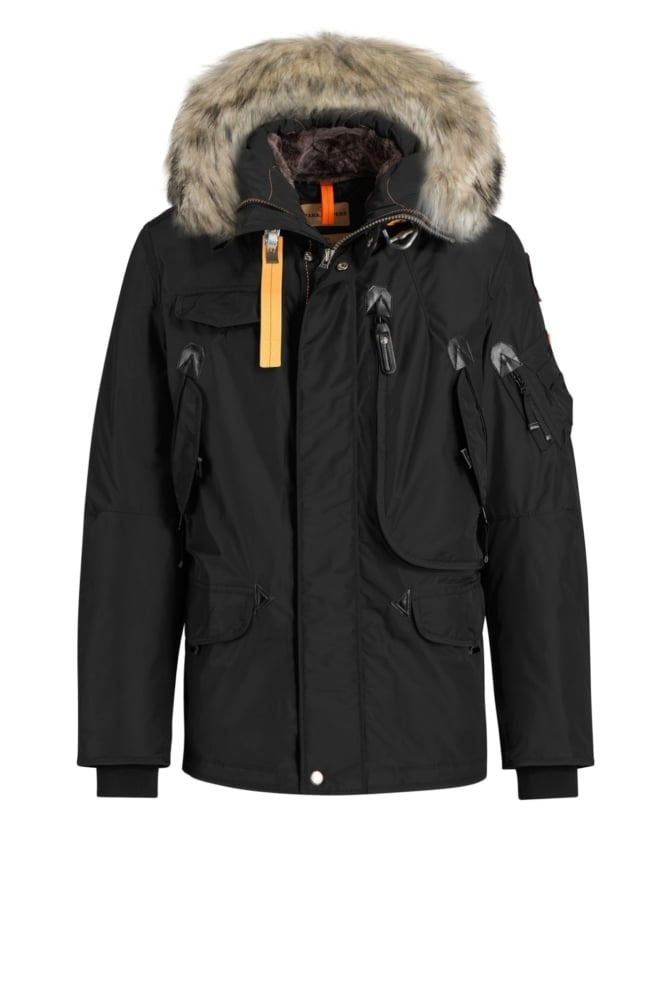 Parajumpers right hand man parka zwart - Parajumpers