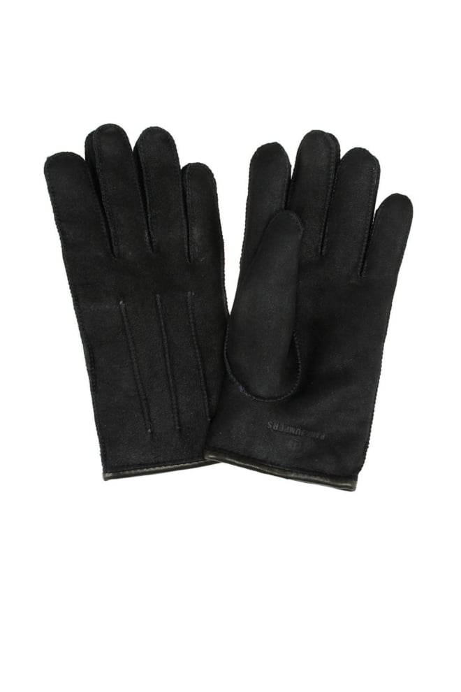 Parajumpers shearling gloves zwart - Parajumpers