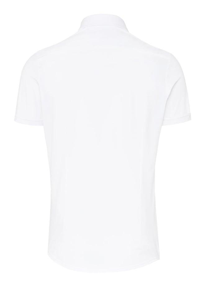 Pure hatico functional overhemd korte mouw wit - Pure-hatico