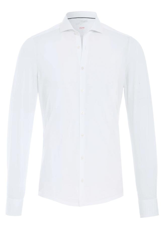 Pure-hatico funtional overhemd wit - Pure-hatico