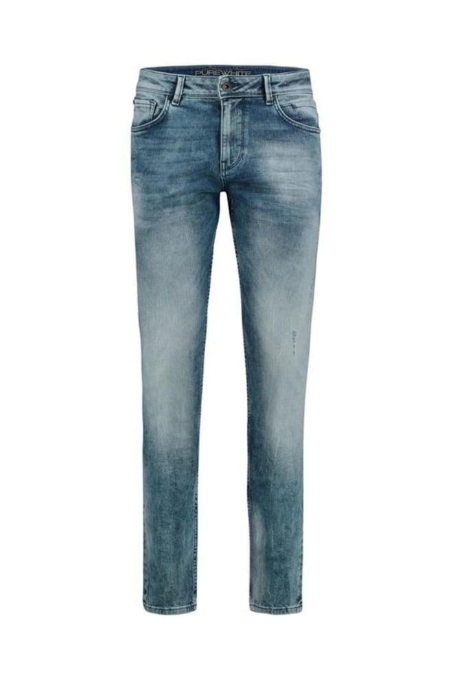 Pure white the jone 333 jeans blauw - Pure White