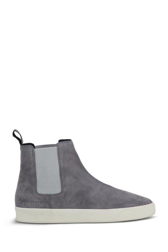 Pure white chelsea sneaker grijs - Pure White