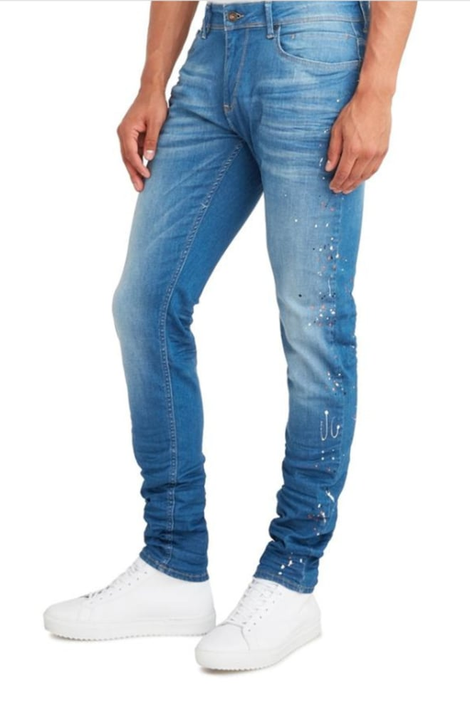 Pure white the jone 268 jeans blauw - Pure White