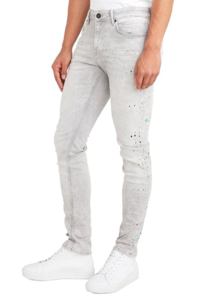 Pure white the jone 313 jeans grijs - Pure White