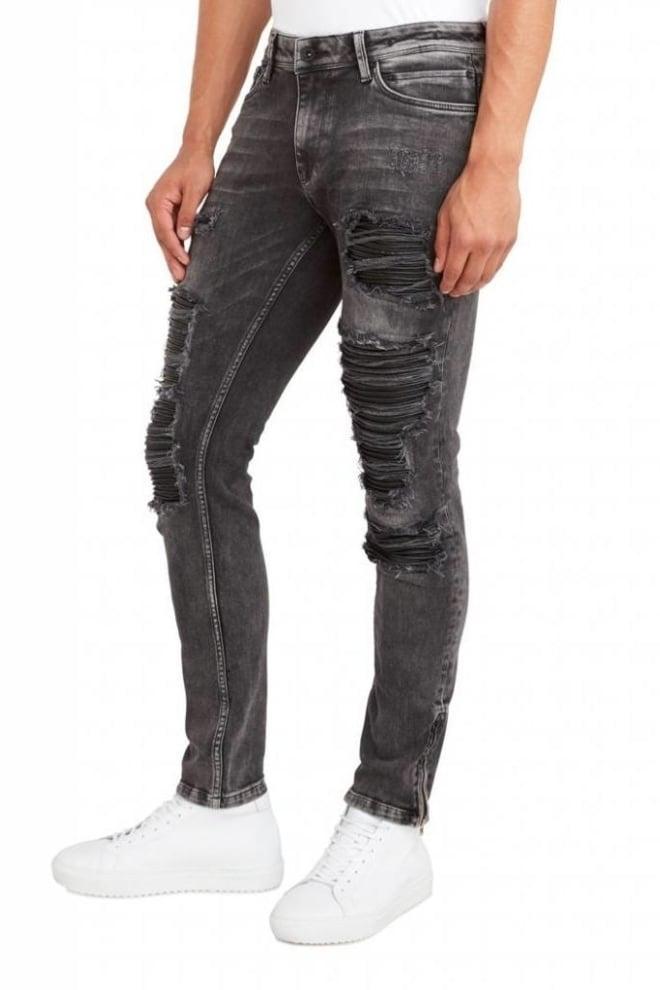 Pure white the jone 291 jeans black - Pure White