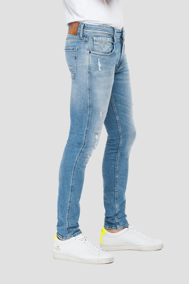 Replay slim fit anbass jeans - Replay