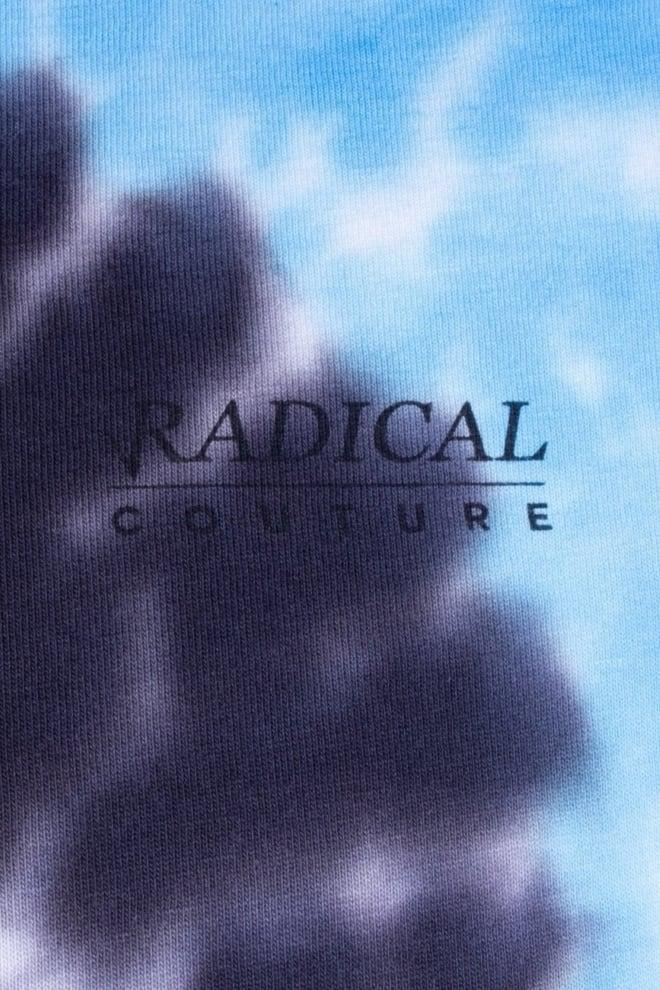 Radical stallo tye dye t-shirt blauw - Radical