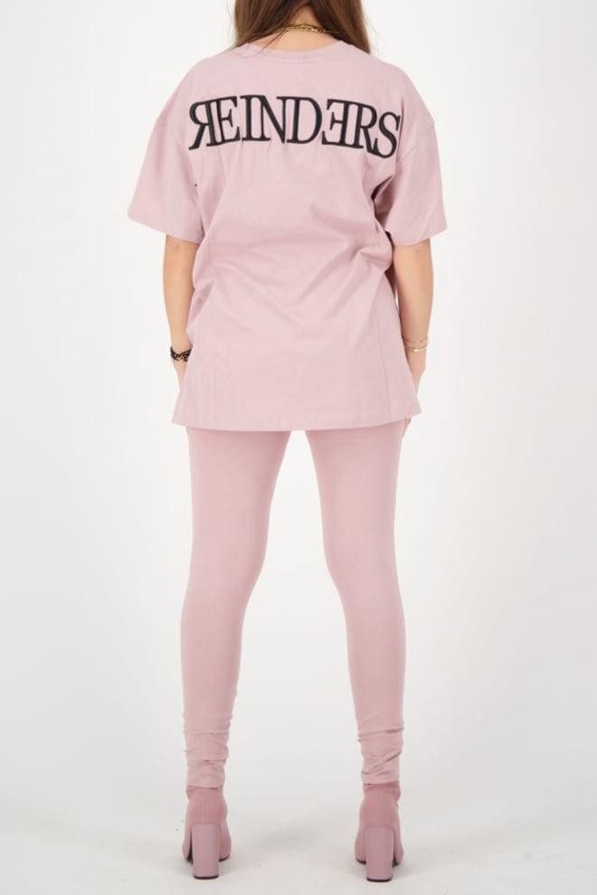 Reinders headlogo t-shirt roze - Reinders