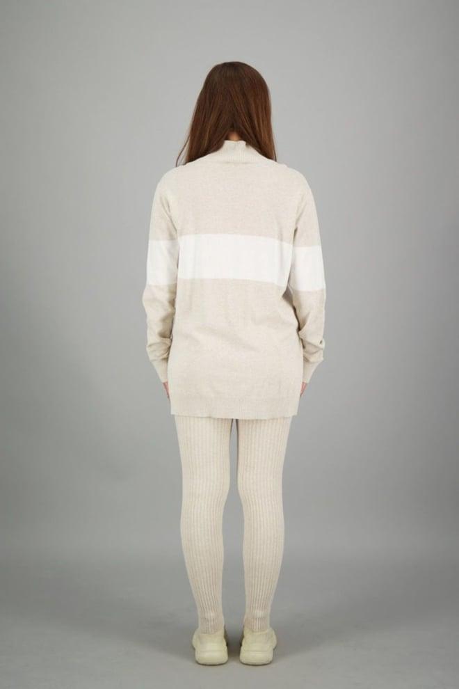 Reinders logoband sweater creme - Reinders