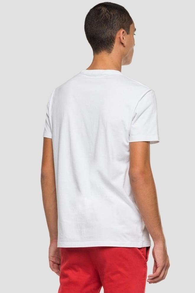 Replay heren t-shirt beach wit - Replay