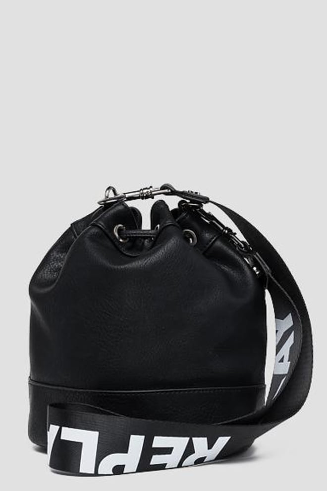 Replay bucket bag zwart - Replay