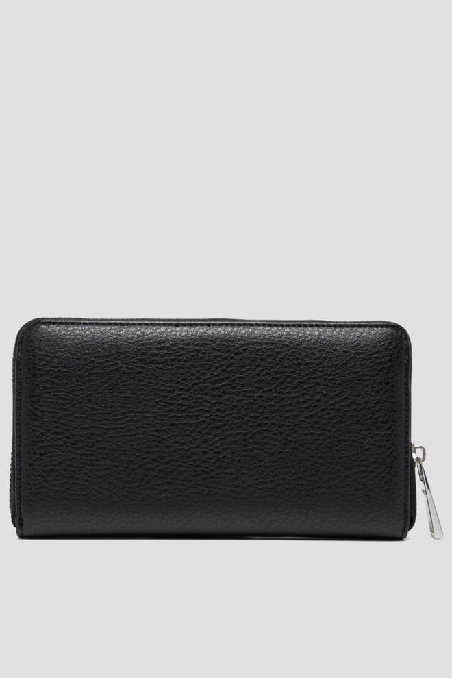 Replay gusset portemonnee zwart - Replay