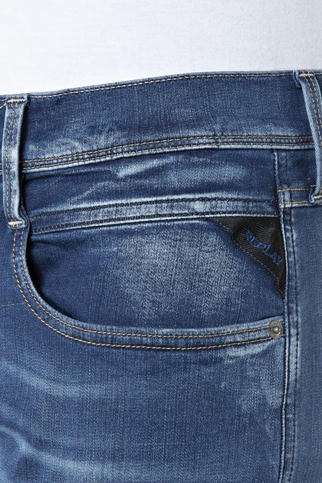 Replay hyperflex jeans blauw - Replay
