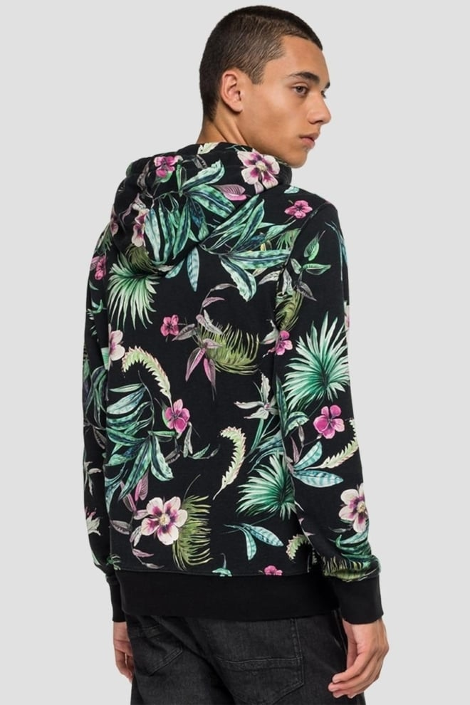 Replay tropical hoodie - Replay