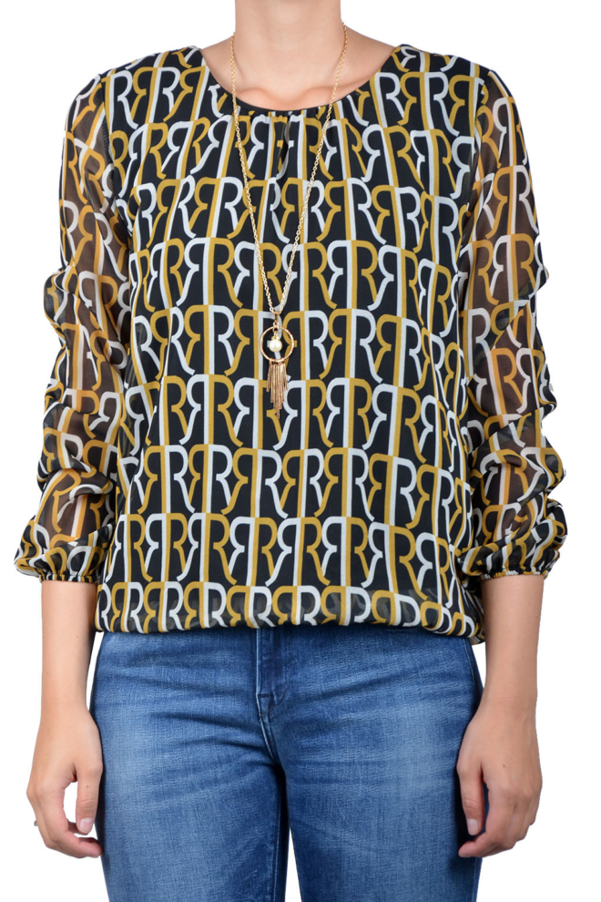 Rinascimento blouse yellow - Rinascimento