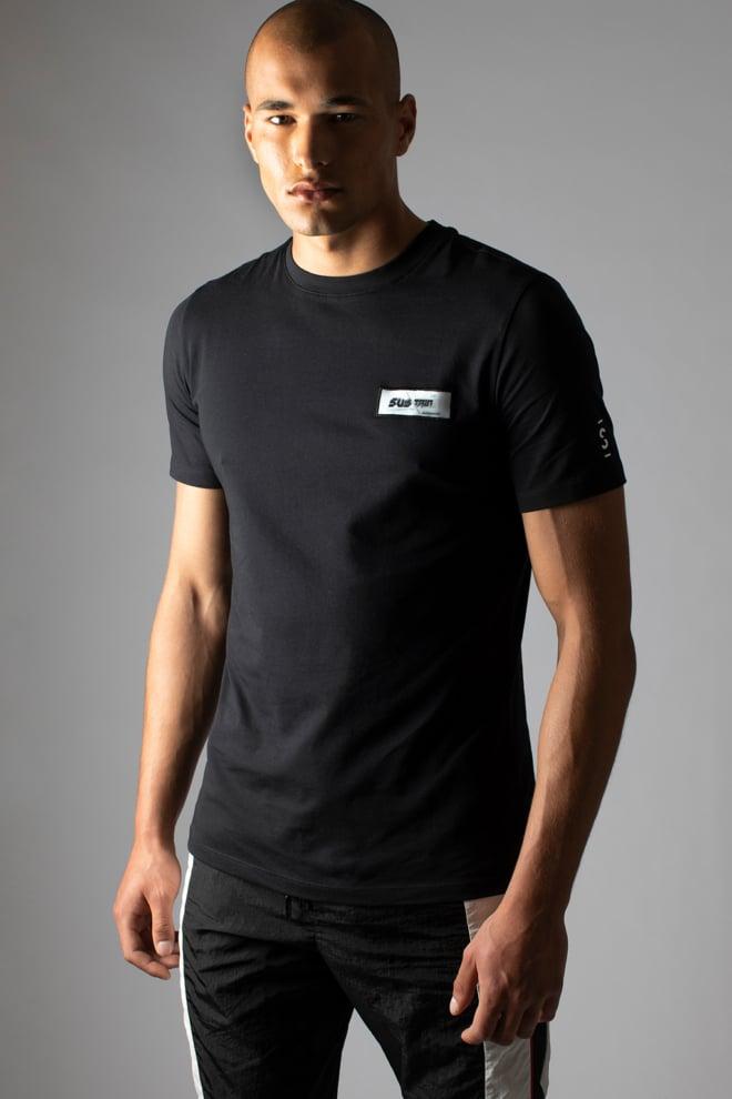 Sustain 3d patch regular t-shirt black - Sustain