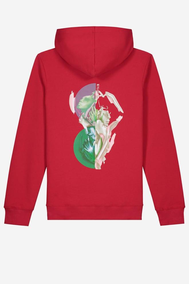 Sustain splash regular hoodie rood - Sustain