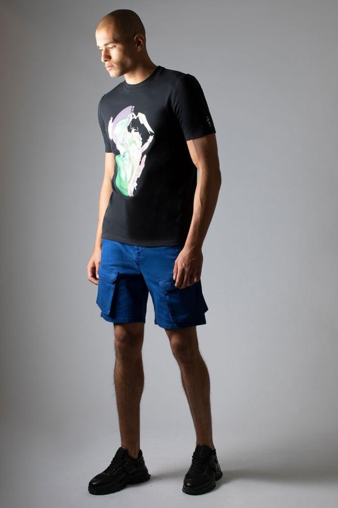 Sustain splash t-shirt black - Sustain
