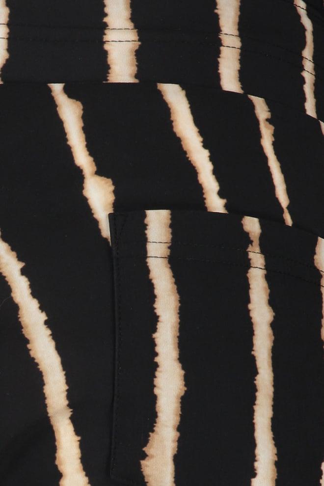 Studio anneloes bermuda tie dye pinstripe - Studio Anneloes