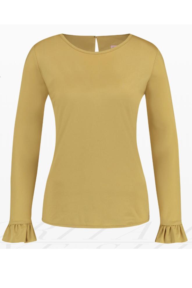 Studio anneloes corita de luxe shirt goud - Studio Anneloes