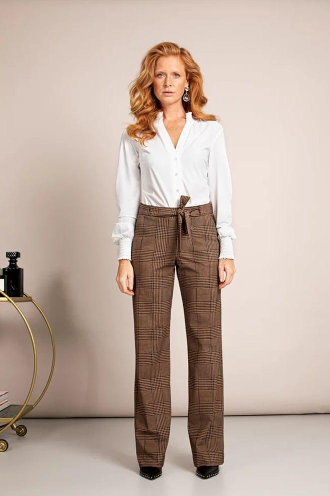 Studio anneloes marilyn pdg trousers camel - Studio Anneloes