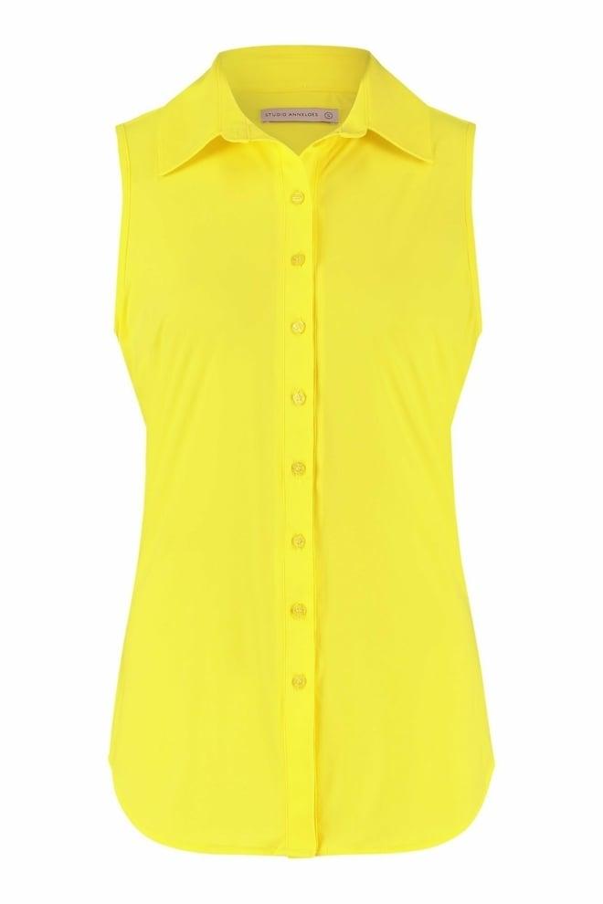 Studio anneloes poppy blouse yellow - Studio Anneloes