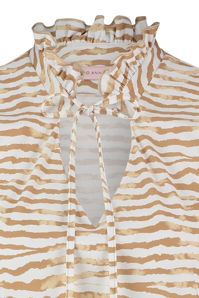 Studio anneloes riva tie dye stripe blouse - Studio Anneloes