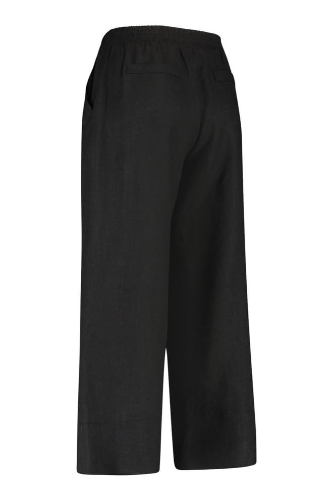 Studio anneloes carlijn linnen trousers zwart - Studio Anneloes