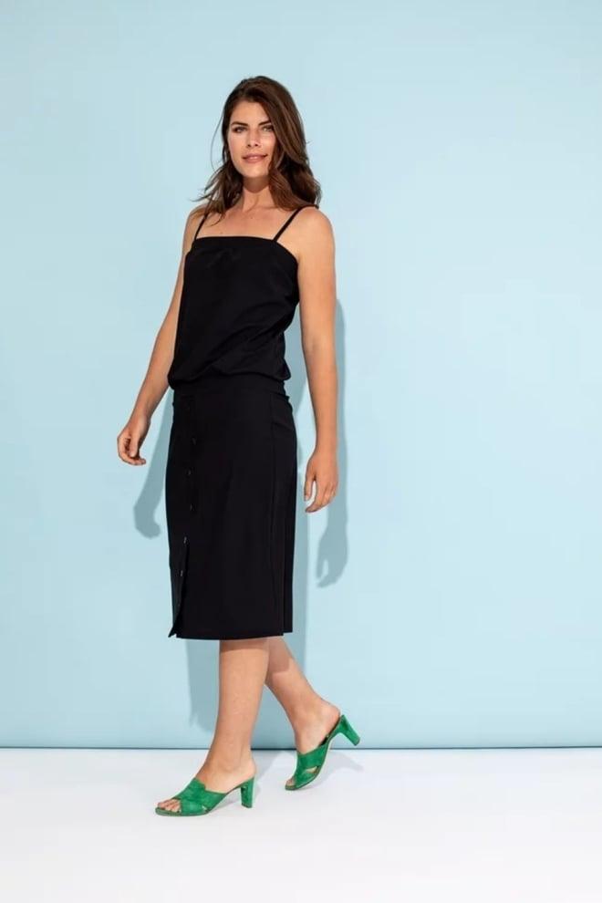 Studio anneloes cleo jurk zwart - Studio Anneloes