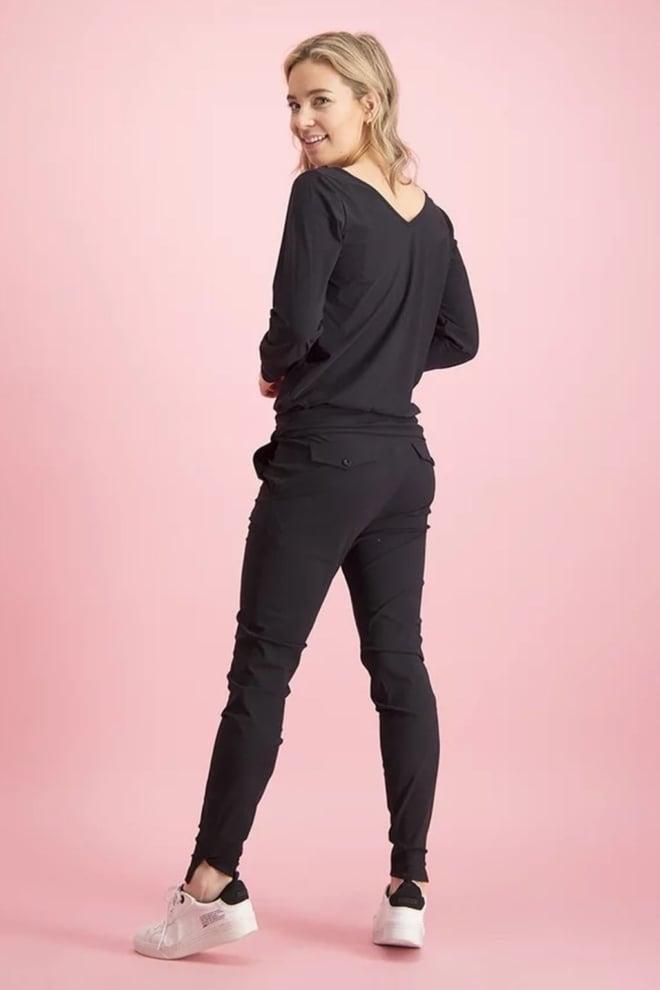 Studio anneloes downstairs trouser zwart - Studio Anneloes