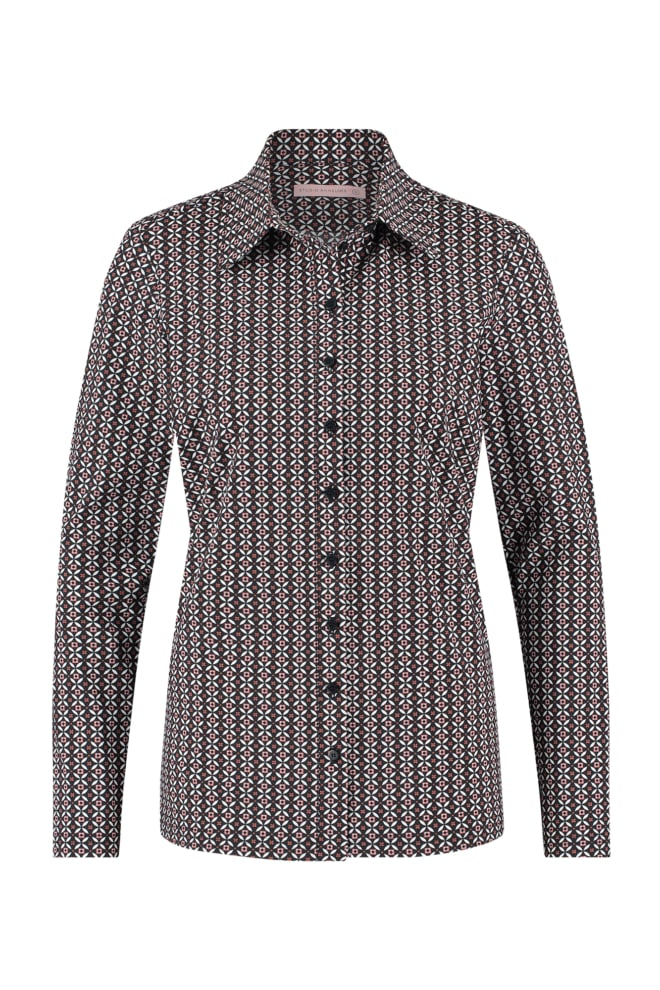 Studio anneloes poppy royal blouse black - Studio Anneloes