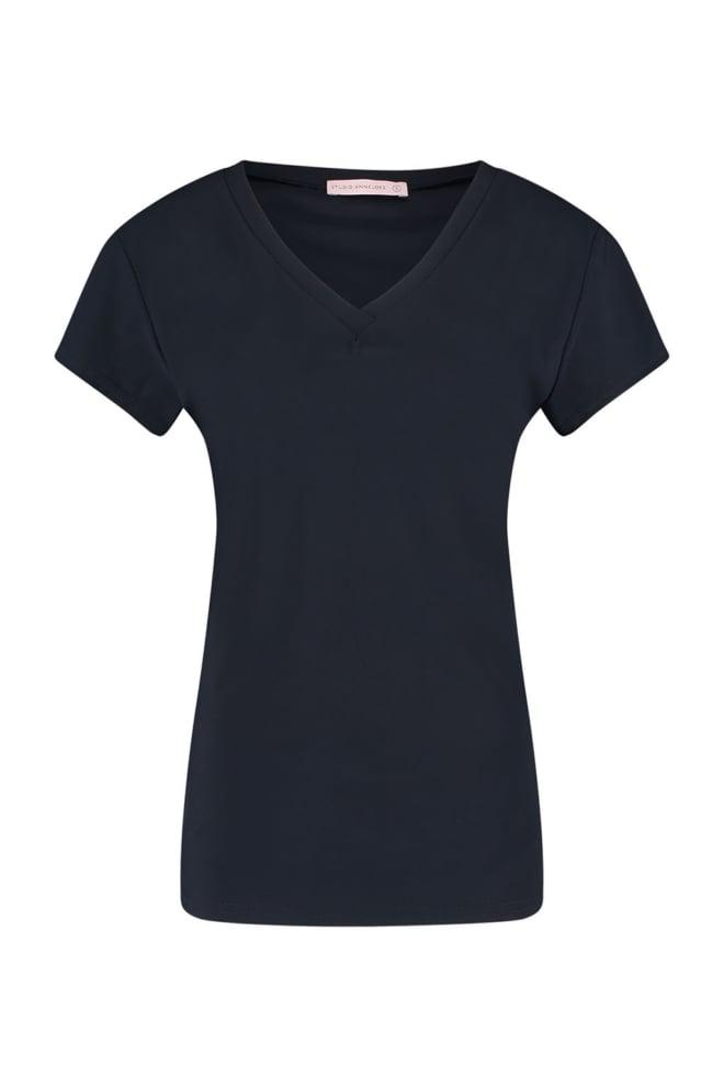 Studio anneloes roller shirt donkerblauw - Studio Anneloes