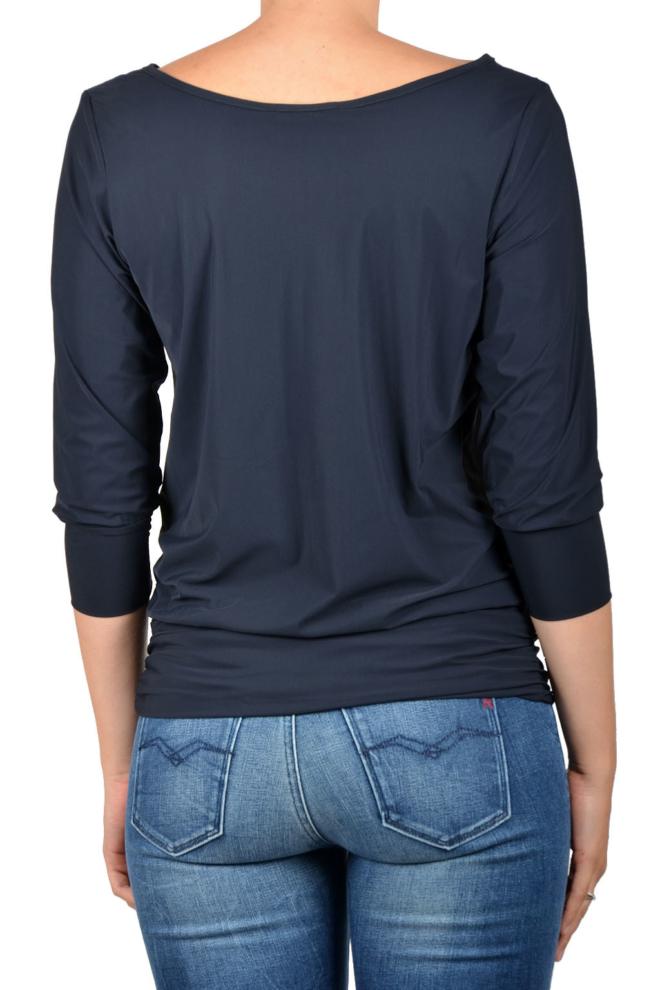 Studio anneloes tandem 2way shirt dark blue - Studio Anneloes