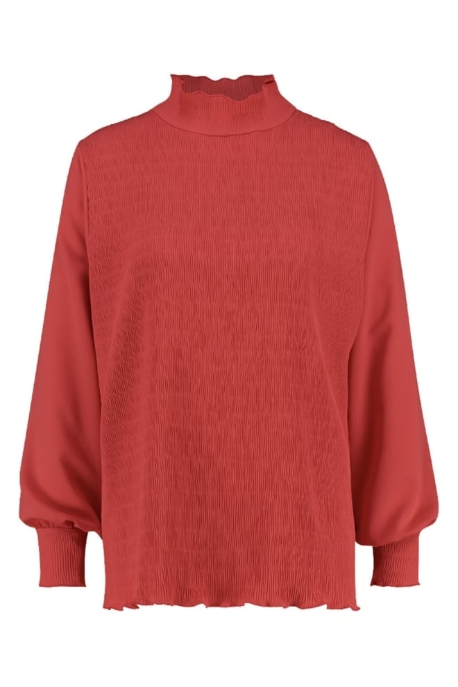 Studio anneloes daisy blouse rood - Studio Anneloes
