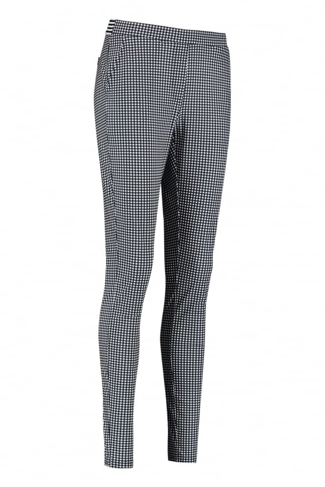 Studio anneloes pascal small check trousers - Studio Anneloes