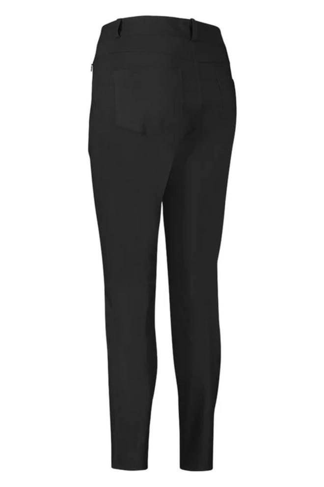 Studio anneloes soho bonded trouser zwart - Studio Anneloes