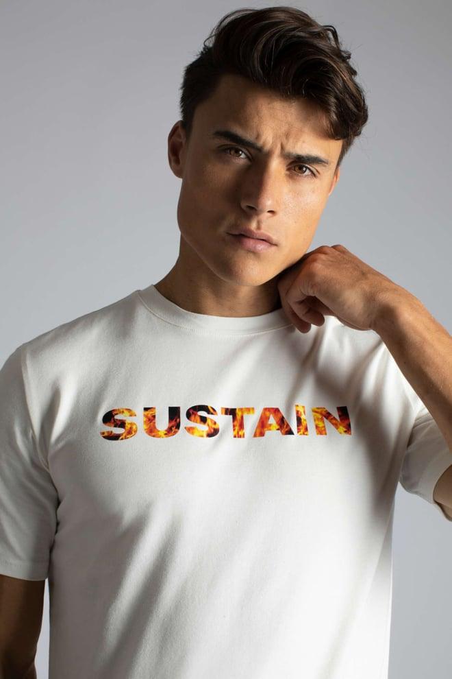 Sustain t-shirt off white - Sustain