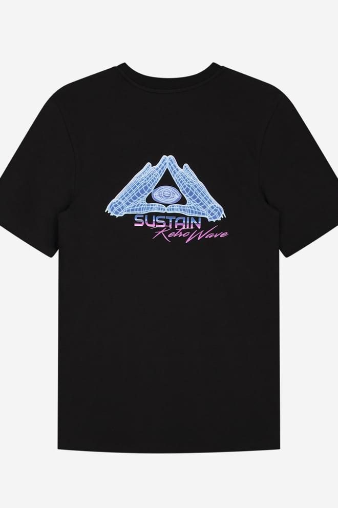Sustain eye t-shirt zwart - Sustain