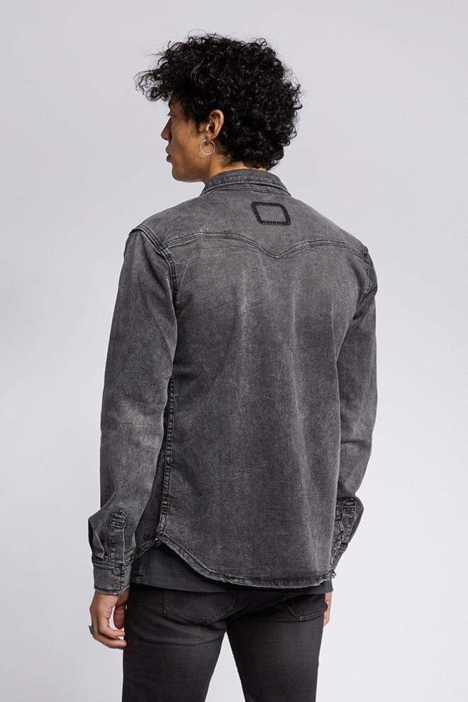 Tigha fred 6965 used shirt vintage black - Tigha