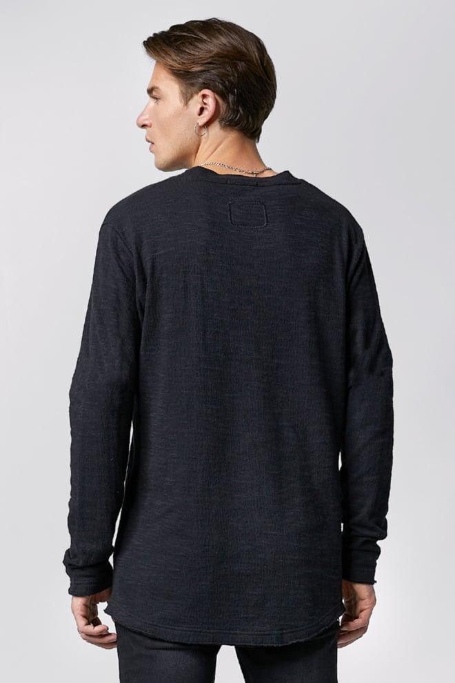 Tigha garret t-shirt lange mouw zwart - Tigha